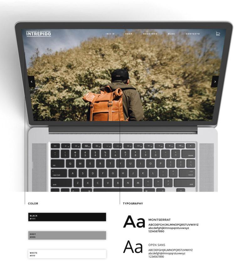 Responsive E-Commerce Website Design and Brand Identity