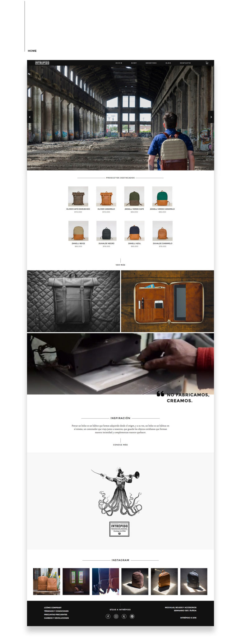 Responsive E-Commerce Website Design