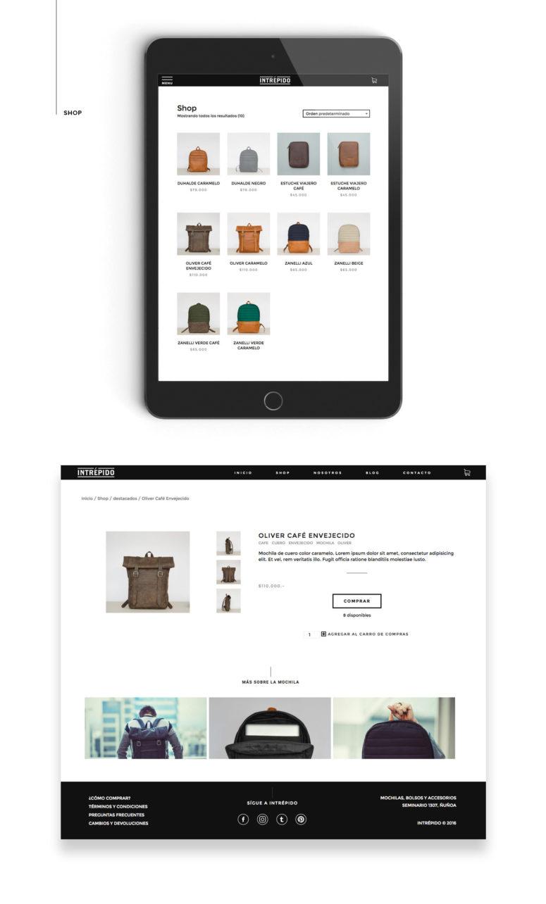 badgedealers intrepido e commerce website design ui ux 7 - badgedealers - Web Development, Graphic Design and Illustration Studio from Bergamo – Milano, Italia.